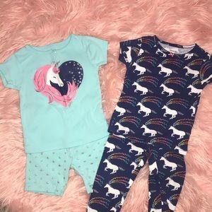 Carter's 4 PC Unicorn Pajama Set